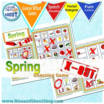 Spring X Out - Guess What Game, Question & Deduction Game #Mar2018SLPMustHave