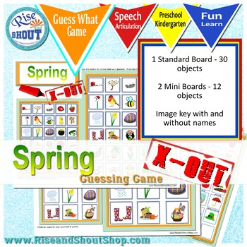 Spring X Out - Guess What Game, Question & Deduction Game