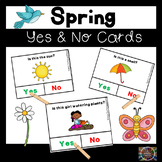 Spring Yes and No Question Cards