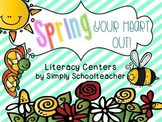 Spring Your Heart Out! Literacy Centers