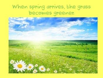Spring ... a PPT for Grades PreK-2nd