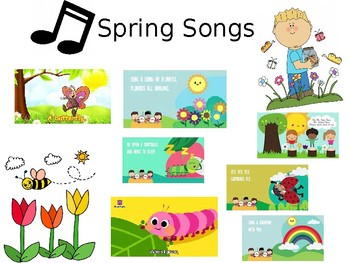 Spring and Bug Songs!