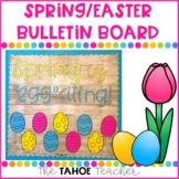 Spring / Easter Bulletin Board | With Writing Prompt