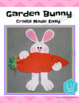 Spring and Easter Craft: GARDEN BUNNY