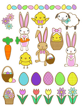 Spring and Easter Clip Art