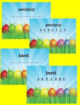 Spring and Easter Fun:  Are You a Word Eggs-pert?