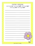 Spring and Easter Fun Pack: Crafts, Writing, and More!