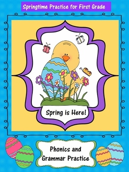 Spring and Easter Grammar and Phonics Resources