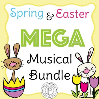 Spring and Easter Musical Games Mega Bundle- a growing bundle!