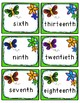 Spring & Easter Ordinal Numbers Games: 1st-20th (40 Sets o