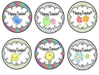 Spring and Easter Pencil Toppers