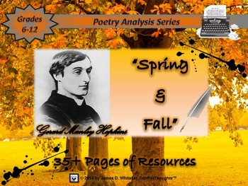 Spring and Fall by Gerard Manley Hopkins Poem Analysis