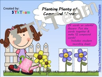 Spring and Garden Math and Literacy Bundle