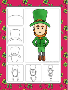 It's just an image of Fan Directed Drawing Leprechaun