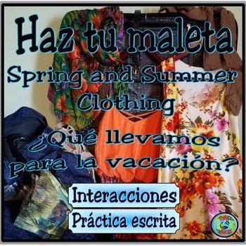 Spring and Summer Clothing Photo Images - Haz tu maleta
