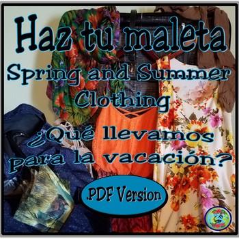 Spring and Summer Clothing Photo Images .PDF version - Haz tu maleta