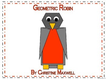 Spring and Summer Geometric Robin 2D Shapes