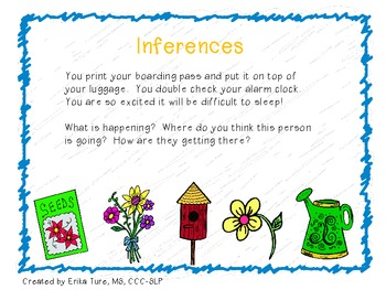 Spring and Summer Inferences!