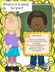 End of the year activities  Math Grammar Printables + What's in a story for you?