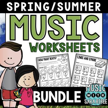 Spring and Summer Mega Pack of Worksheets **BUNDLED SET**