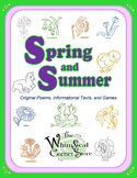 Spring and Summer  Original Poems, Informational Texts and Games