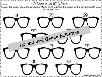 Spring and Summer Packet: 1st and 2nd Grade