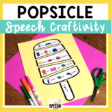 Spring and Summer Popsicle Speech Craft 50% off