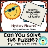 Spring and Summer Mystery Pictures (Interactive PowerPoint Review Game)