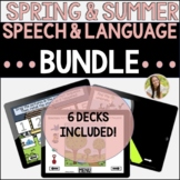 Ultimate Spring and Summer Speech and Language Boom Cards™ Bundle