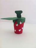 Spring and Summer Strawberry Craft Project