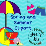 Spring and Summer Themed Clipart