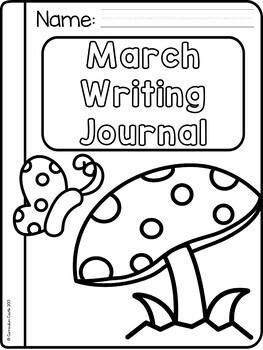 Spring Writing Journal {K-2} NO PREP!