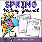 Spring Writing Journal (K-2) NO PREP