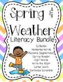 Spring and Weather Literacy Bundle