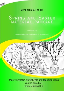 Spring and easter material package