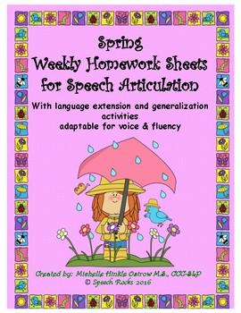 michelle ostrow speech homework