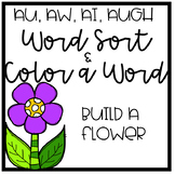 Spring  (aw, au, al, augh) word sort