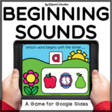 Spring beginning sound review Google Slides activity | Alphabet Letters