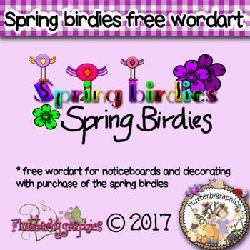 Spring birdies