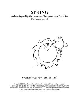 Spring Activities and Clip Art by Nadine Lovell
