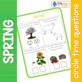 Spring circle time questions