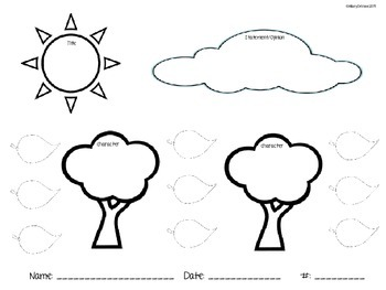 Spring compare and contrast graphic organizer