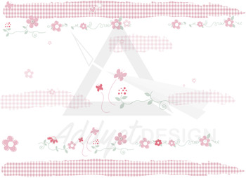 Spring decoration for boards, notes and notebook