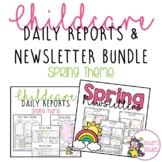 Spring (flower) Childcare Daily Reports with Matching News
