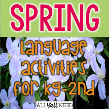Spring for Speech and Language Therapy - Younger Elementary