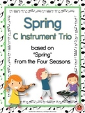 'Spring' from Four Seasons easy instrumental trio.