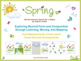 Spring from Vivaldi's Four Seasons - Listening, Moving, & Mapping Activities