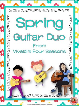 """Guitar Duo: """"Spring"""" from the Four Seasons"""""""