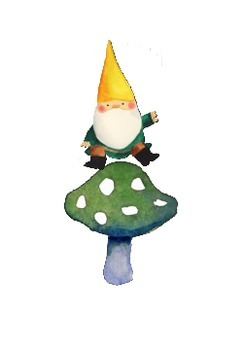 Spring gnomes place words