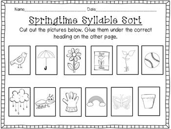 Spring has Sprung! A Literacy Unit {Flowers, Plants, and other Spring Things}